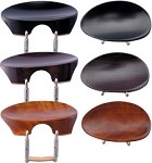 Flesch New Model Chinrest in Ebony Rosewood or Boxwood