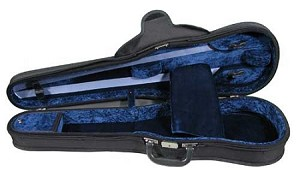 Gewa Concerto Shaped Violin Case - Swiss Latch - 4/4