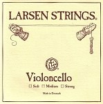 Larsen Cello Strings Medium Gauge
