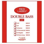 Super Sensitive Red Label Double Bass Strings