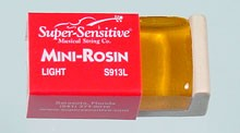 Super Sensitive Mini Rosin for Violin Viola and Cello