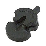 Tourte Violin Shaped Mute for Violin and Viola